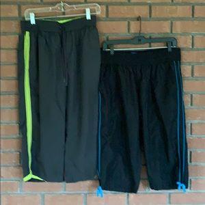 2 pair BCG workout capris